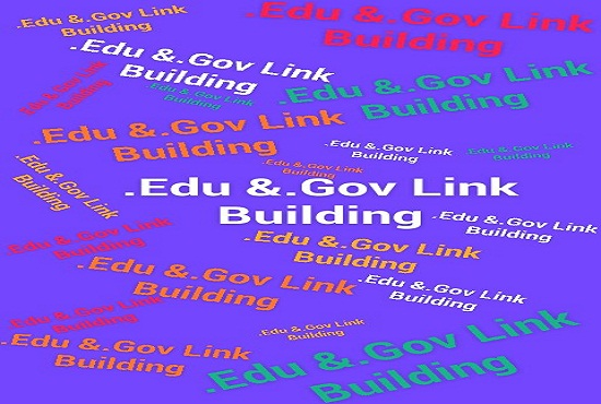 40 .edu and .gov high quality backlinks to Rank your website