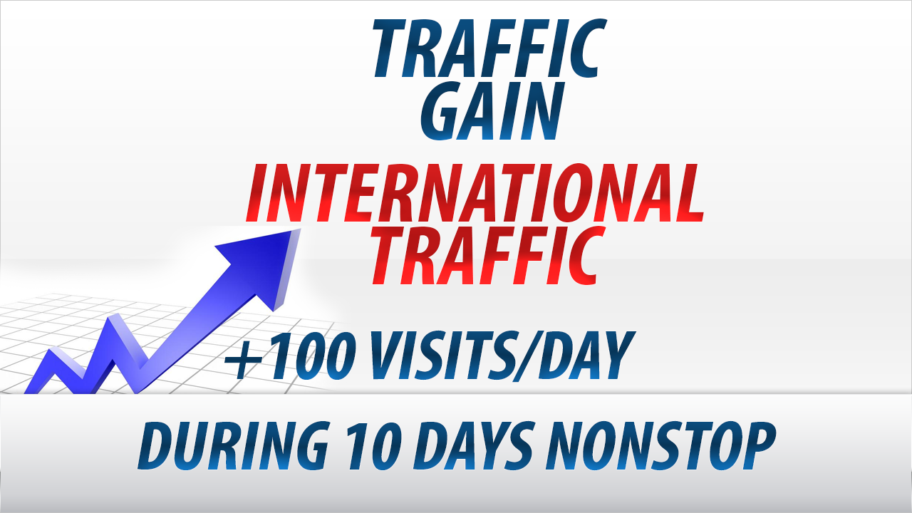 Get 100-500 visits/day in your website during 10 days