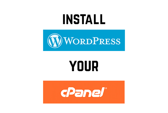 Install Wordpress In your cpanel
