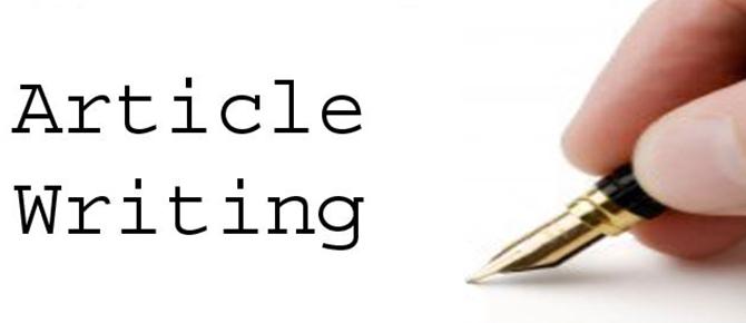 write original SEO articles for your website or blog