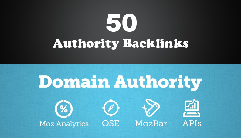 50 PR 5-9 Unique High Authority Backlinks
