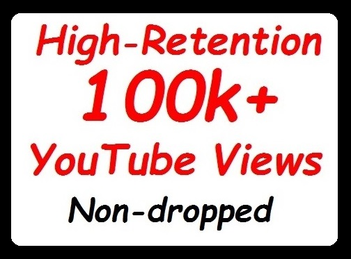 100000 Or 100k+ YouTube Views High Retention and Safe Video Promotion instant start