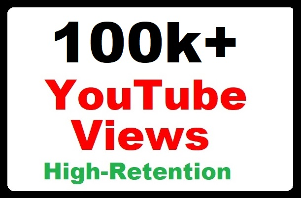 100000+ YouTube Views High Retention and Safe Video Promotion quick start