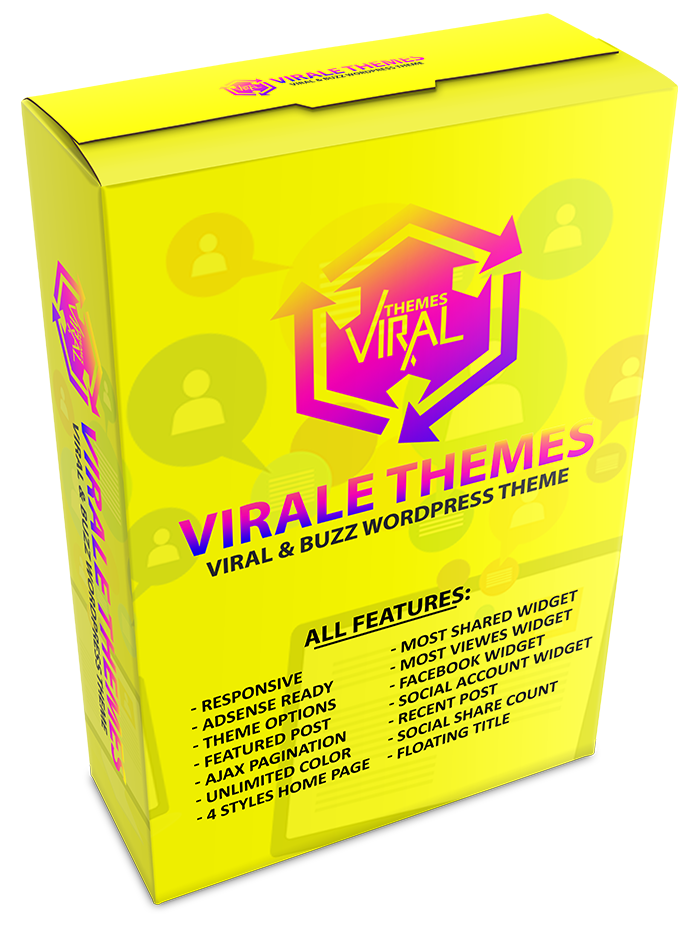 We will Provide Wordpress Theme Viral Content For You