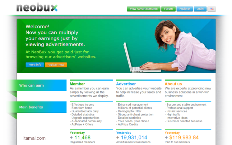 Secret to unlimited income on neobux PTC
