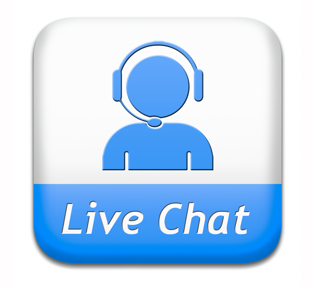 Live Chat and Email Support
