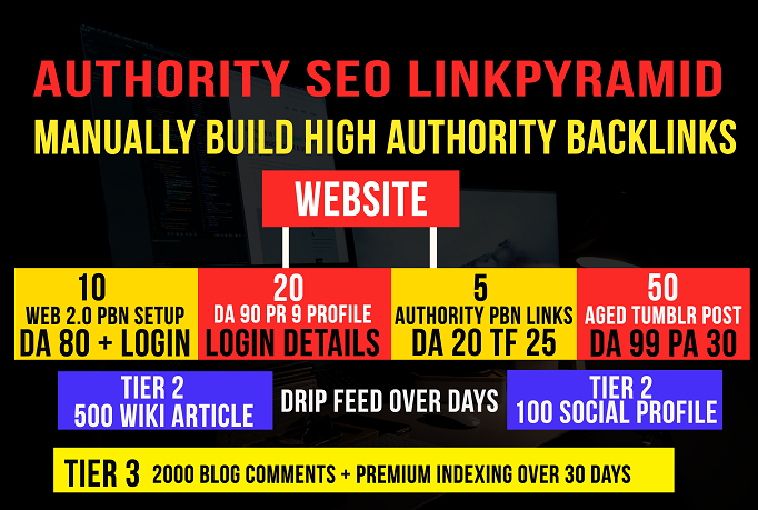 Ranking Missile Authority Link Pyramid , Perfect SEO Service