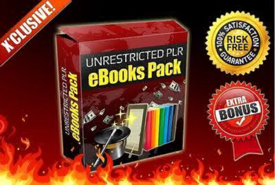 255 Fully Unrestricted PLR eBooks plus Bonus 7 Platinum eBooks