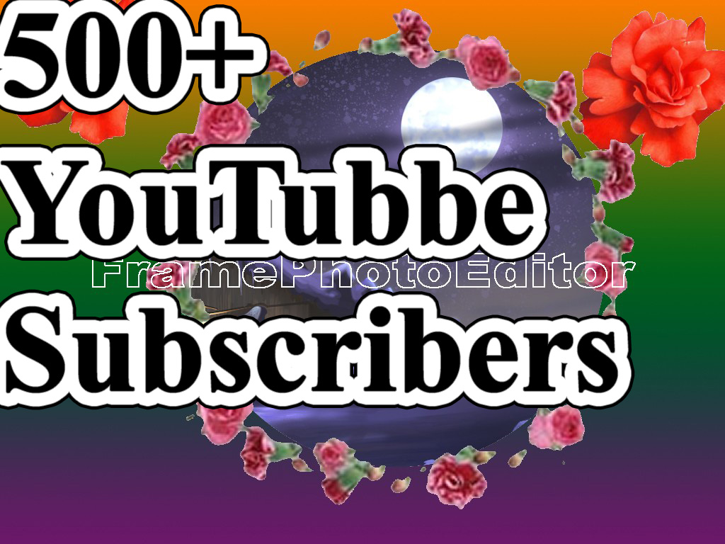 Get 500+Real Subscribrers for your Channel  very fast and refillable 24-72 Hours Delivery