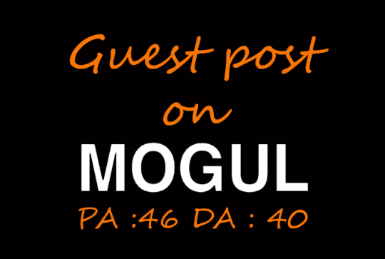 Publish a guest post on Onmogul with dofollow link