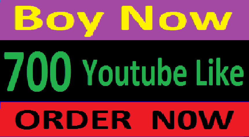 Instant 700 Youtube video worldwide Like only
