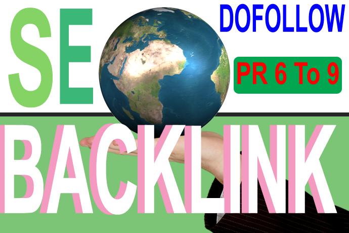 40 High PR9 to PR6 Backlinks Make Feed