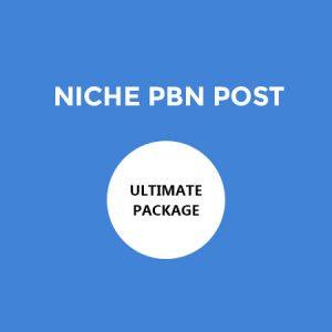PBN / Blog post in High DA Site