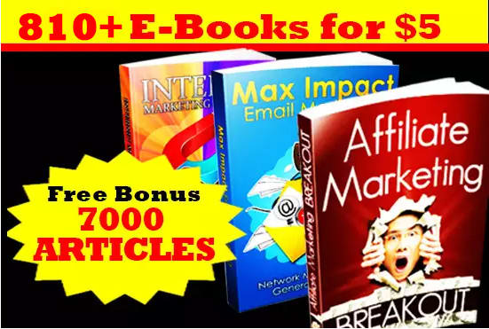 give 810 MRR Internet Marketing EBooks,Articles