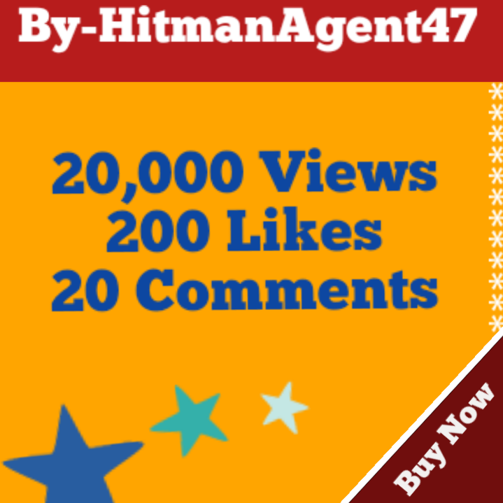 20,000 Youtube Video Views,200 Likes & 20 Comments Fast Non drop