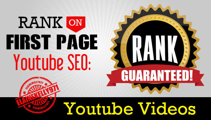 YouTube SEO Rank On Page 1 Fast