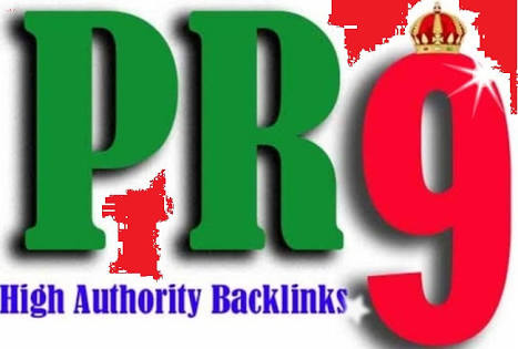 Provide you with real 85 PR9 Backlinks