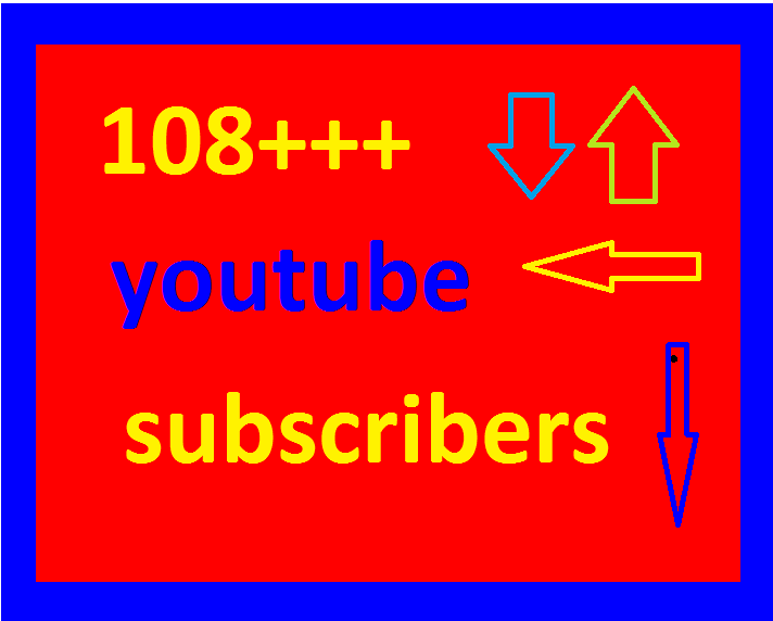 I WILL GIVE YOU 100++ NON DROP YOUTUBE SUBSCRIBERS ONLY