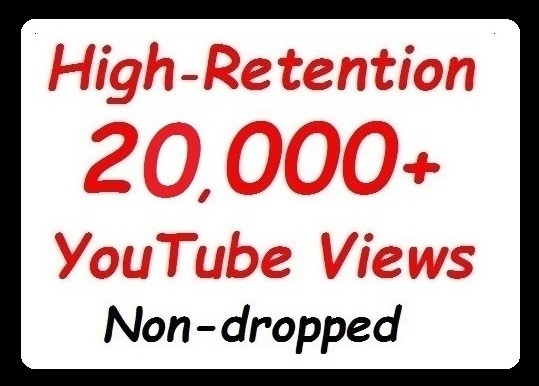 20000+ YouTube Views High Quality and Safe Video Promotion quick start