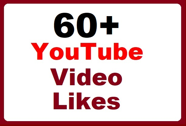 60+ High-quality YouTube Video thumbs up instant start and the fastest delivery