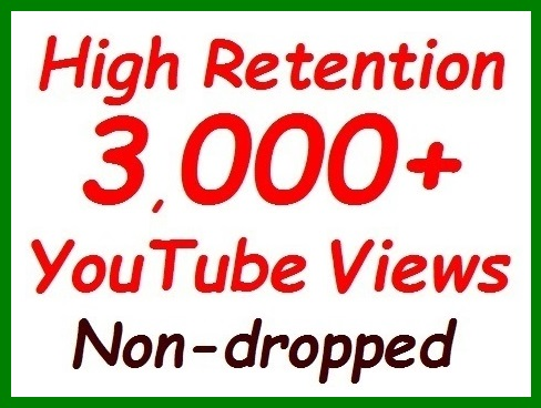 1000+ to 1200+ YouTube Veiws fully safe+100+ likees extra bonus all non-dropped