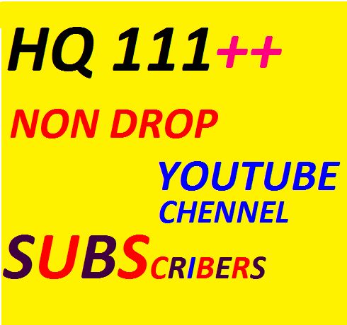 ACTIVE &REAL OFFER 111++ youtube  CHANNEL SUBSCRIBERS only for