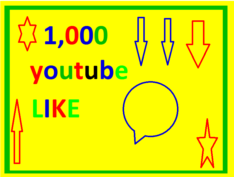 Bumper offer 1000+ youtube video like only for