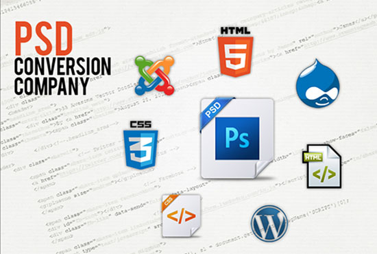 Basic,  Standard and Premium PSD to HTML convert