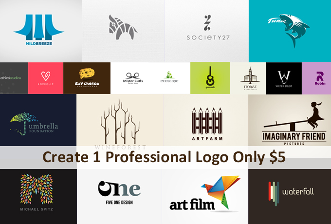Create a Professional,  Unique & Eye Catching And Killer Logo Design