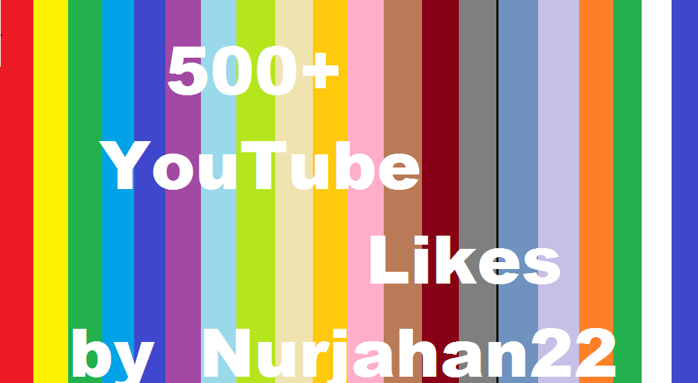 Add 500+  Real Non Drop YouTube Likes 10-12 Hours in Delivery