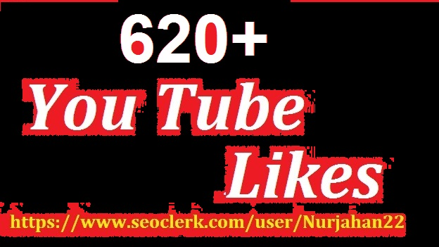 Add Super fast 620+Real non drops YouTube likes 06-12 hours in delivery