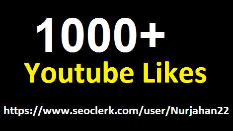 Safe/Add  1000+ Real Non drop YouTube  Likes  in complete