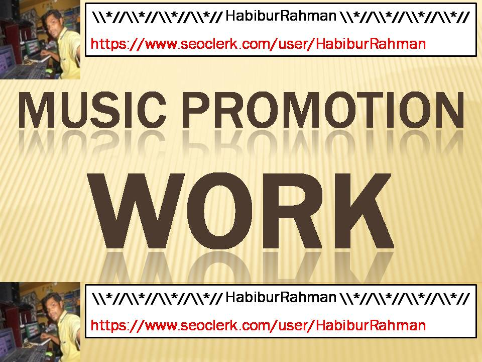 Music Promotion first delivery 250 Favorite or 250 repost or 250 follawere or 40 commants your track