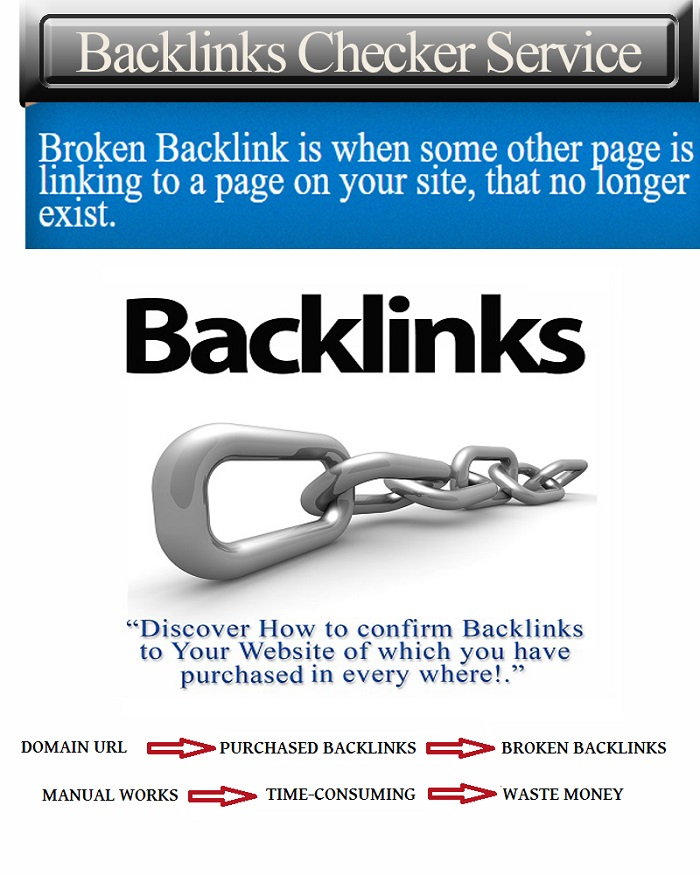 Will Check Backlinks To Your Website