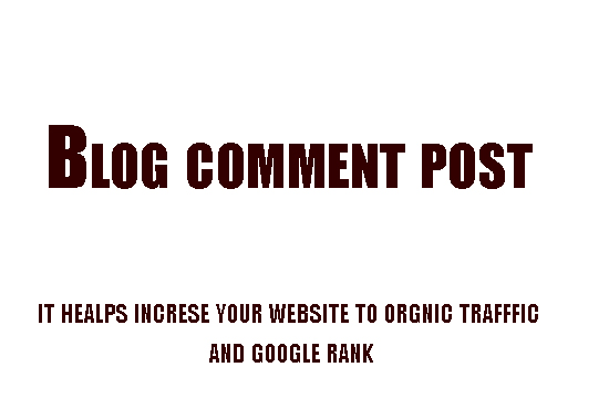 do manually create 3 approval blog comment post