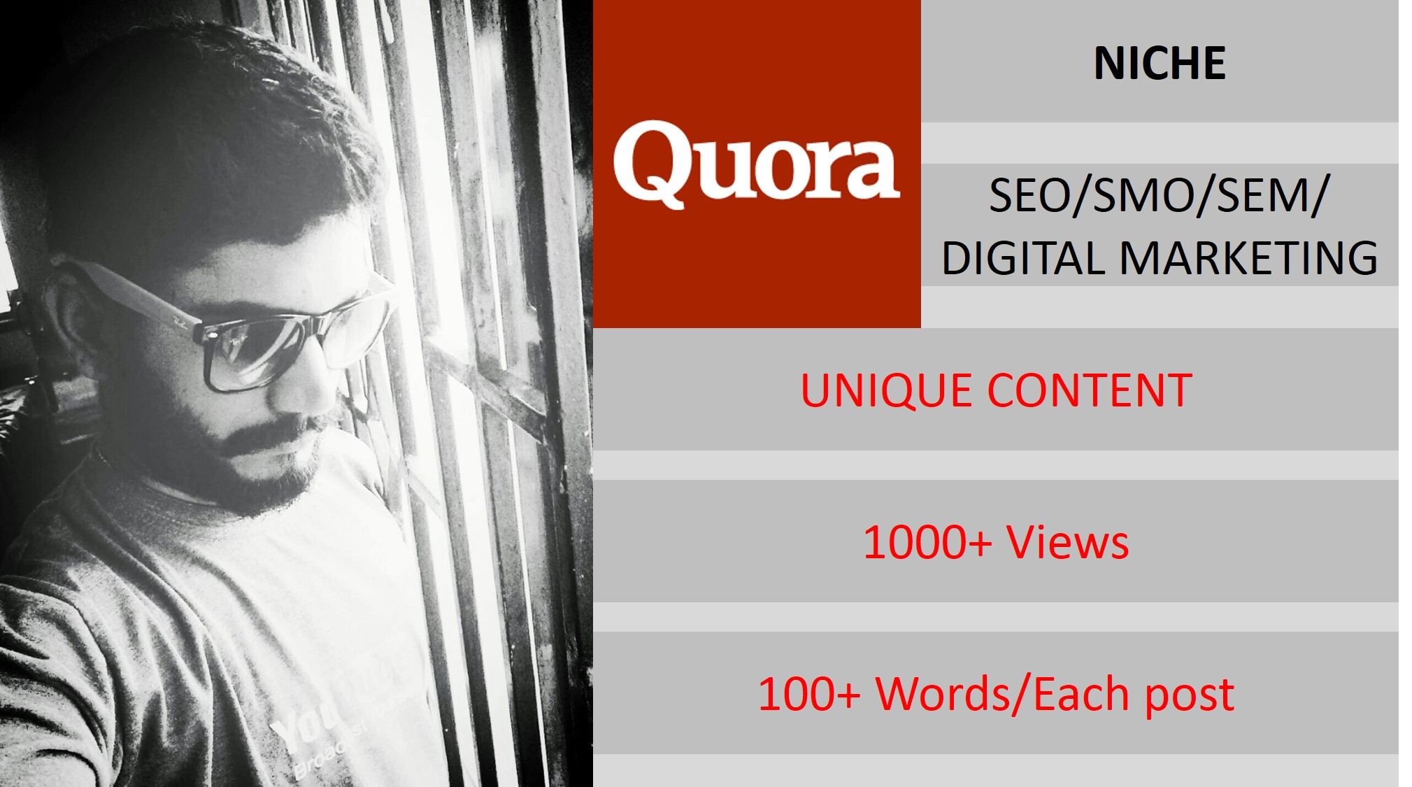 Promote your SEO or Digital Marketing Company on QUORA
