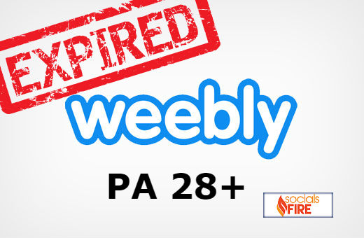 Get 10 Expired Unregistered Weebly Blogs PA 28