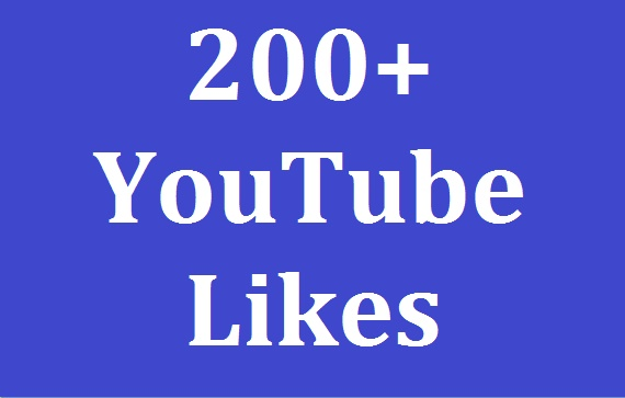Safe 200+YouTube Likes and nondrop 100% Very Fast delivery 8-10 Hours In Complete for $1