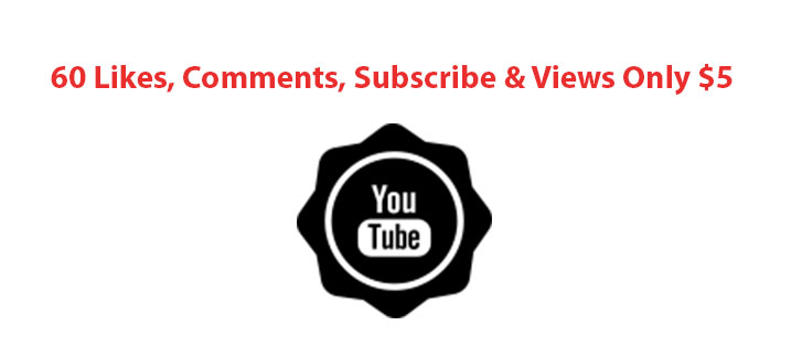 YouTube 63 Likes, 63 Comments, 63 Subscribers & 63 Views Only