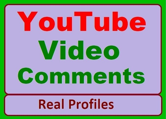 YouTube Videos Custom Promotion from Real Profiles