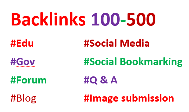 Build 200 High quality Dofollow backlinks improving your website