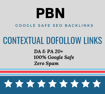 10 PBN DA 20-30 High Metrics Contextual Permanent Backlinks