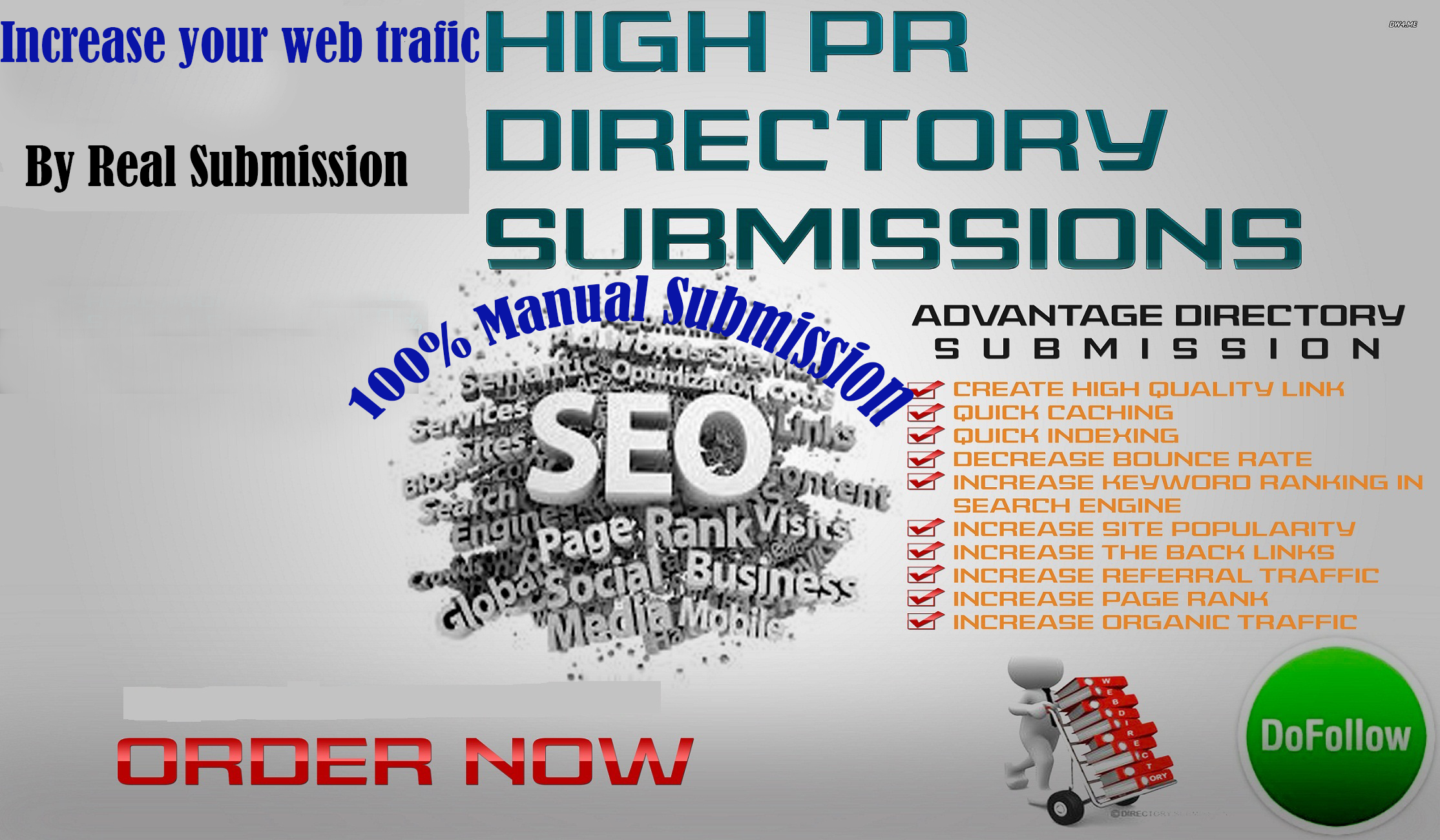 Do 80 Directory Submission, Manually Increase Your Web Trafics