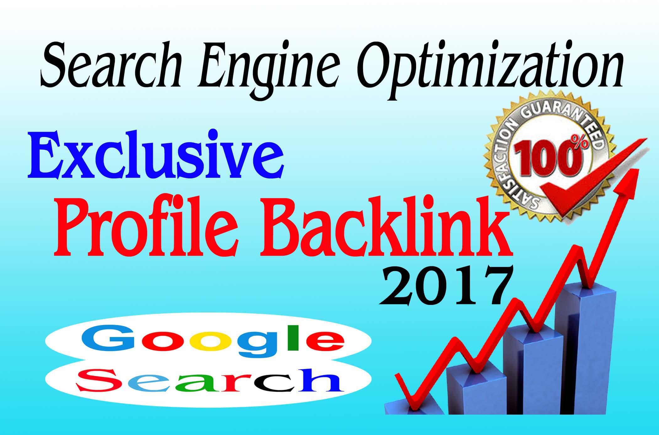Create 30Top PR Exclusive Profile Backlinks