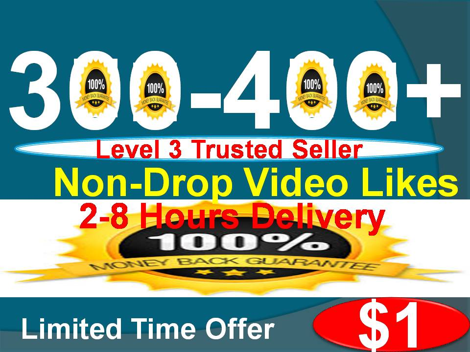 Get Non-drop Youtube 250-300 Video Likes within 2-6 houres