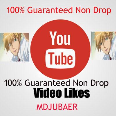 [Guaranteed Non Drop] 1300+ Real youtube video likes