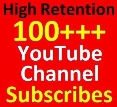 110+ YouTube Channel Subscribers Non-dropped and Safety Guaranteed