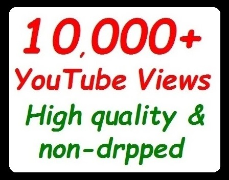 10000+ YouTube Views High Retention and Safe Video Promotion instant start