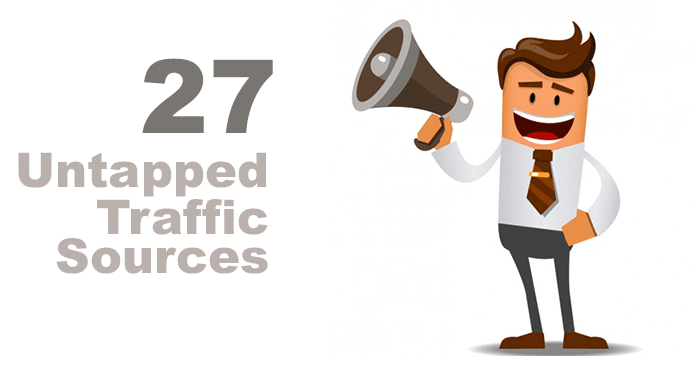 Want Untapped Free Traffic?? provide you with guaranteed 27 Untapped traffic Sources