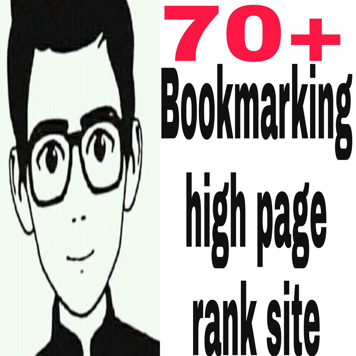 i will completed 70 social bookmarking from high page rank site